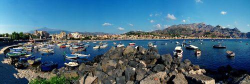 italy,sicilija,Taormina,jūra,valtys,pakrantė