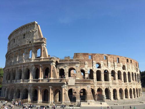 italy,Roma,kolosas,Romos lankytinos vietos,vaizdas į Romą,šventė,lankytinos vietos,pastatas,arena,paminklas