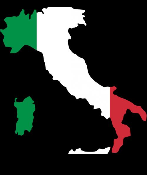 italy, vėliava, žemėlapis, geografija, Europa, Šalis, nemokama vektorinė grafika
