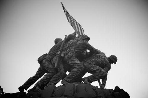 korpusas, iwo & nbsp, jima, jūrų, jūrų & nbsp, korpusas, jūrų & nbsp, memorialas, paminklas, kariuomenė, paminklas, patriotinis, atminimas, statula, simbolis, mus & nbsp, vėliava, Vašingtonas, washington & nbsp, dc, pasaulis & nbsp, karas & nbsp, 2, iwo jima jūrų memorialas