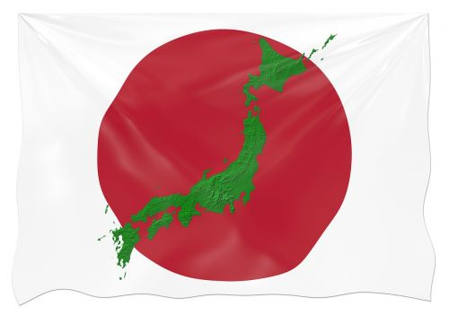 Japonija,vėliava,žemė,sienos,kontūrai,kontūrai