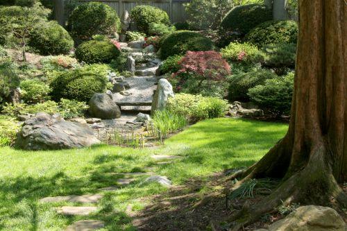 vandens sodas, japonų & nbsp, sodas, akmuo & nbsp, sodas, sodas, augalai, gamta, lauke, vaizdingas, vaizdingas, graži, taikus, tylus, kontempliacija, japonų akmens vandens sodas 2