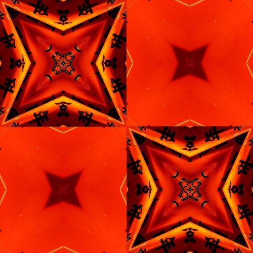 dizainas, ruduo, Halloween, fonas, popierius, Scrapbooking, modeliai, raudona, oranžinė, Japonija, japanese, personažai, Japonija - 4
