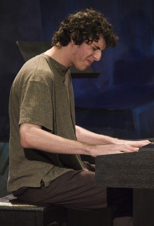 džiazas,muzikantas,fortepijonas,spektaklis