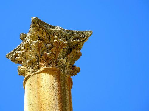 Jerash, Jordan, Stulpelis