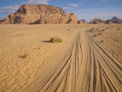 Jordan, Dykuma, Wadi Rum