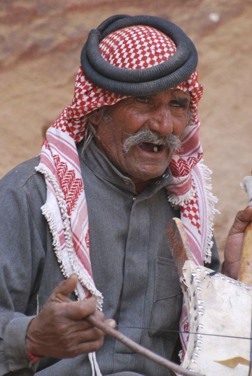 Jordan, Arabas, Muzikantas
