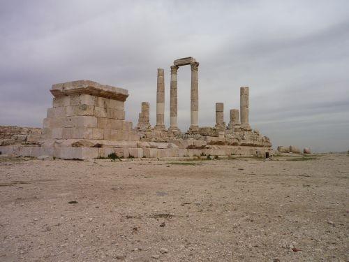 Jordan,  Griuvėsiai,  Romėnų,  Dykuma