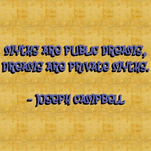 mitai, visuomenė, privatus, svajones, josefas, Campbell, citata, išmintis, tekstas, josefas stovyklos svajones