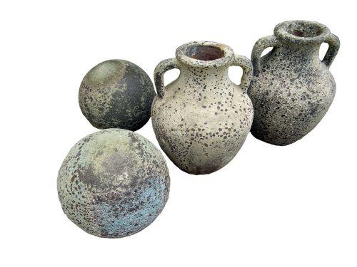 ąsočiai,vazos,rutuliai,keramika,Senovinis