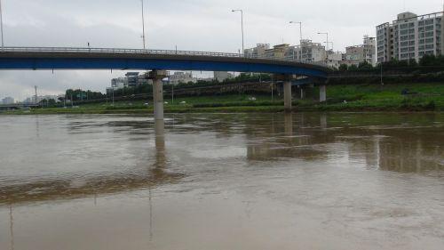junja,upė,po,sunkus,lietus,po lietaus