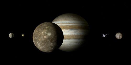 jupiteris,callisto,jupiteris mėnulis,mėnulis,Galileischer mėnulis,keturi dideli Galilėjos mėnuliai,Galileo,jupiterio sistema,dujų variklis,dydžio sąlygos,rutuliai,dydžio santykis,harmonija,plūdė,saulės sistema,planeta,penktoji planeta,kosmoso kelionės,kosminis skrydis,zondas,misija,kosmoso zondas,suvokti,tyrimai,technologija,erdvė,astronomija,astrologija,šviesa,šešėlis,kontrastas