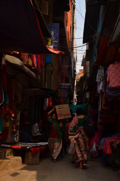 katmandu,Nepalas,gatvė