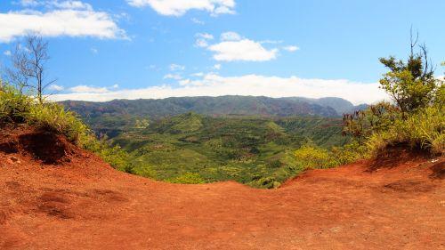 kauai,Hawaii,Hawaii,usa,slėnis,atotrūkis,natūralus