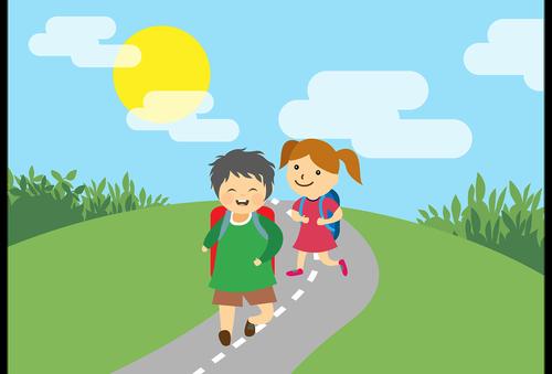 vaikai, mokykla, švietimo, mokyklos vaikai, ELEMENTARY, vaikai, mokymasis, studentas, mokyklinio amžiaus vaikų, vaikystės, vaikai mokykla, šypsosi, Nemokama iliustracijos