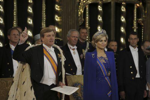 karalius vilemas aleksandras,queen maxima,Nyderlandai,ceremonija,priesaika,naujas karalius,viduje