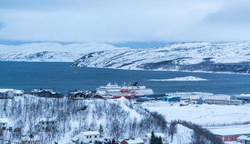 Kirkenes,Norvegija,kalnai,kraštovaizdis,sniegas,gamta,žiema,Skandinavija,Europa,turizmas,saulėlydis,dangus,lauke,vaizdingas,peizažas,finnmarken