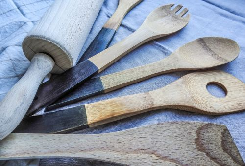 mediena, vis dar & nbsp, gyvenimas, stalo įrankiai, maistas, šaukštas, virimo, medinis, stalo įrankiai, indai, virtuvės reikmenys, virtuvė, įranga, įrankiai, namų ūkis, nustatyti, vidaus, įrankis, prietaisas, plienas, Paruošimas, kulinarijos, paruošti, Virtuvės įranga