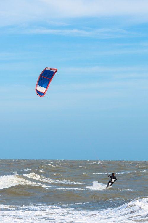 Kite surfer,vėjas,jūra,dangus,surfer,banglenčių sportas,Sportas,aitvaras,vandenynas,naršyti,vanduo,kiteboard,banglentė,vyras,kiteboarding