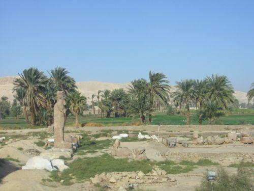 kraštovaizdis, luxor, Egiptas, kraštovaizdis netoli luxor