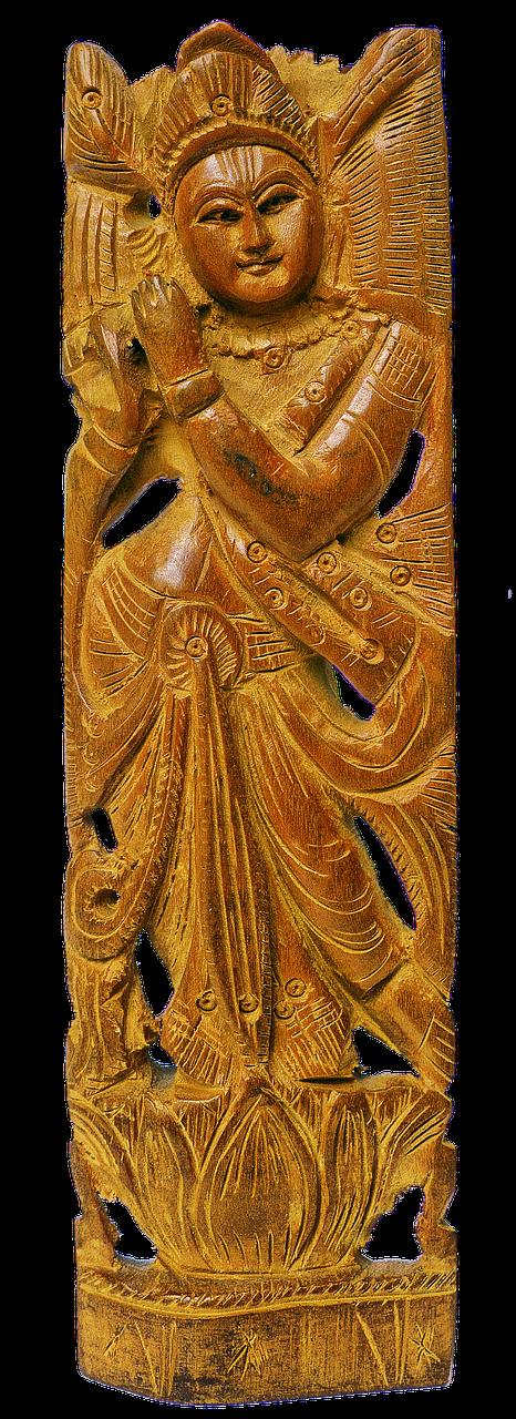 krishna,holzfigur,ranka raižyti,Indija,Indijos,keshava,religija,hinduizmas,dvasingumas,dievybė,šventas,izoliuotas,tand,dulkių gaudyklė