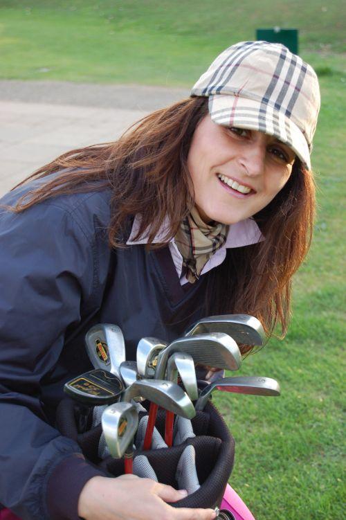 golfas, Lady, ponios & nbsp, golfas, moterys, moterys & nbsp, sportas, Sportas, Lady golfo žaidėjas