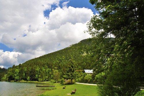 ežeras, kalnų, kraštovaizdis, vandens, Berger ežeras, Italija, Gelzenkirchenas, paukštis, mėlyna, Komo ežeras, veidrodis, Afterglow, abendstimmung, Maloja, Garda, pobūdį, Engadin, lapai, Veidrodinis, miškas, nuotaika, laivas