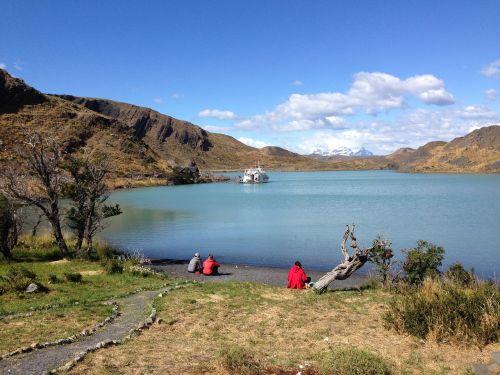patagonia,gamta,ežeras,valtis,kalnai,kraštovaizdis,torres del paine,Chilean patagonia,ežero pehoe