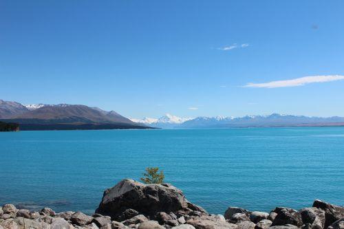 ežeras,natūralus,vanduo,mėlynas,kalnai,kalno virėjas,ežeras pukaki,kalninis ežeras,kraštovaizdis