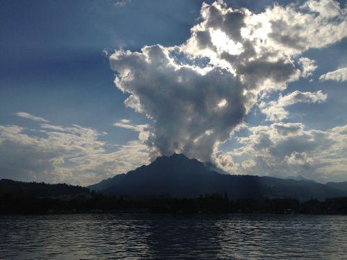 ežero Lucerne regionas,liucernos,Šveicarija,kalnas,centrinė šveicarija,vanduo,dangus,laivyba
