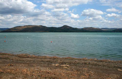 užtvankos, vanduo, didelis, ramus, aqua, ežeras, pusė, Krantas, ežero krantas