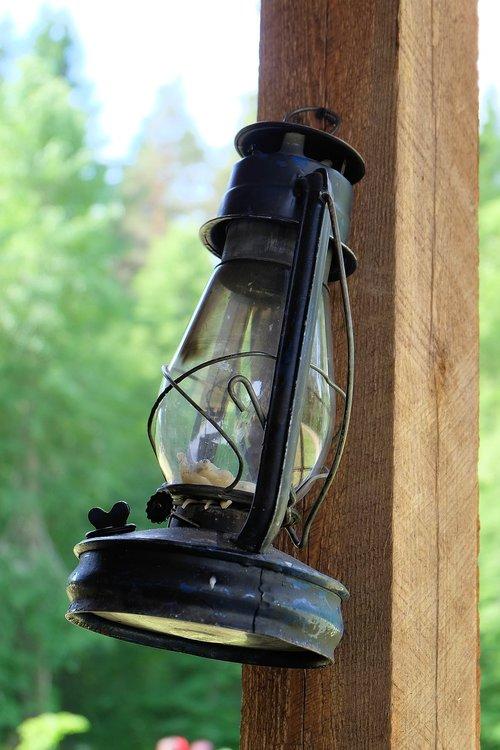 lempa, žibalo lempa, šviesos, Vintage, seni dalykai, senovė, dekoro, aliejinė lempa