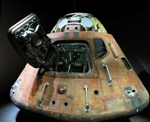 Nusileidimo Kapsulė, Kennedžio Kosmoso Centras, Nasa, Usa, Florida, Kosmoso Kelionės, Apollo