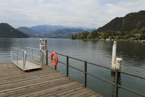 Nusileidimo Prieplauka, Figino, Ežeras, Ticino