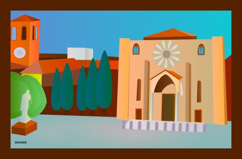 orientyras,žvilgsnis,piazza san francesco,lodi,italy,kvadratas,objektas interesų,įdomi,lankytina vieta,Poi,Lankytina vieta,rodyti vietą,nemokama vektorinė grafika