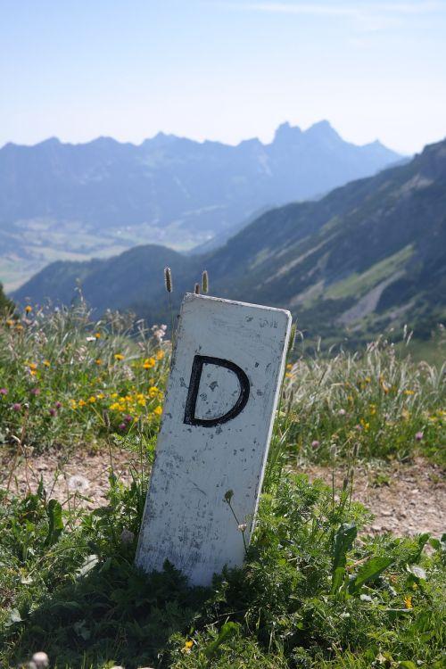 orientyras,pasienio teritorija,Vokietija,šalies genas,Allgäu,Allgäu Alpės