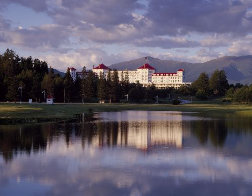 kraštovaizdis,kurortas,ežeras,kelionė,atostogos,lauke,vaizdingas,Mount Washton viešbutis,Bretono miškai,naujas hampšyras,architektūra,usa
