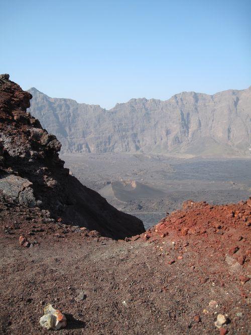 kraštovaizdis,vulkanas,vulkaninis,Rokas,cape verde,gamta,uolienos formacijos,lavos laukai,vulkaninis uolas