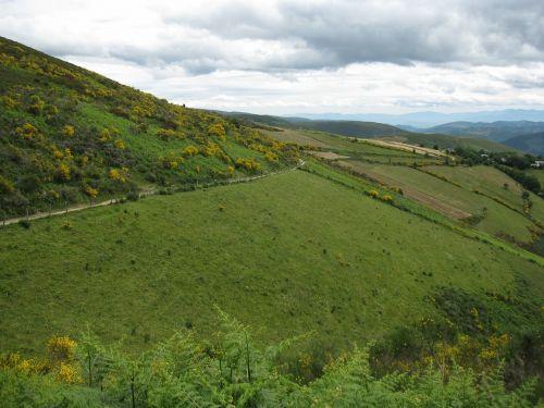 Kraštovaizdis, Galicia, Pakilimas, Piedrafita