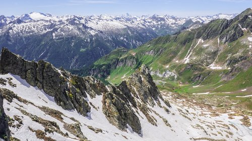 Kraštovaizdis,  Kalnai,  Alpine,  Ticino,  Šveicarija