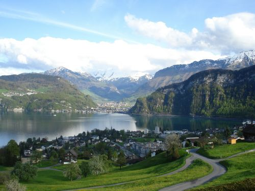 peizažai,kraštovaizdis,ežeras,centrinė šveicarija,nidwalden,hergiswil,ežero Lucerne regionas,Šveicarija,vasara,vidinė šveicarija,kalnai,kalnų papėdijos,žygiai,unterwalden,panorama