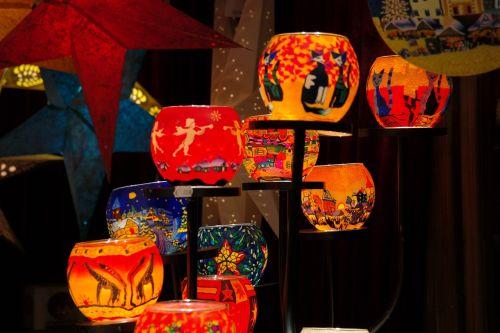 žibintai,Kalėdų rinka,spalvinga,šviesus,spalva,šviesa,raudona,geltona,stalas,stovėti,Kalėdinis stendas,pardavimo stendas