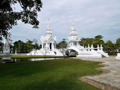 laosas,balta,šventykla