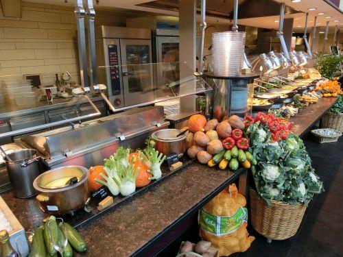didelis virtuvė,valgykla,virtuvė,vaisiai,fonas,mityba,sveikas,valgyti,maistas,pramoninė virtuvė,skaitiklis,bufetas