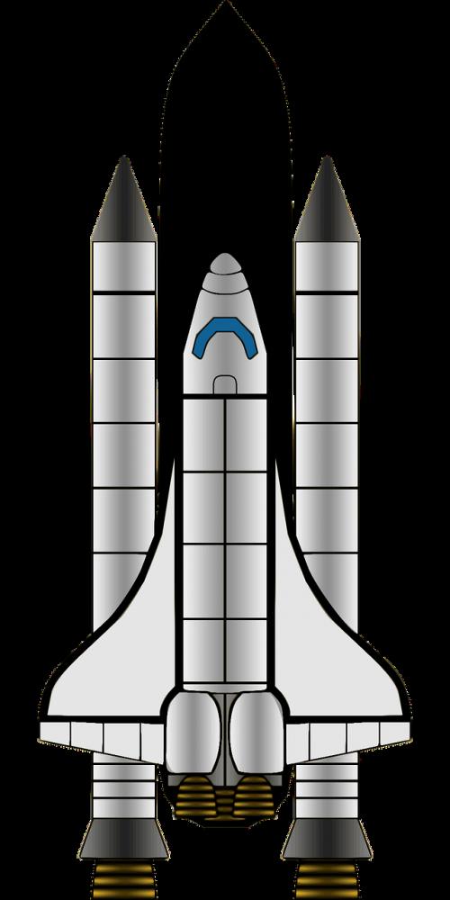 Paleidėjas, Raketa, Orbita, Raketa, Autobusas, Erdvė, Transporto Priemonė, Nemokama Vektorinė Grafika