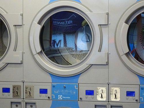 skalbyklė, skalbyklė, skalbyklos, skalbyklos, skalbimas, mašina, mašinos, džiovintuvas, džiovyklės, parduotuvė, parduotuvės, Parduotuvė, visuomenė, moneta, veikė, plovimo skalbyklė su džiovykle