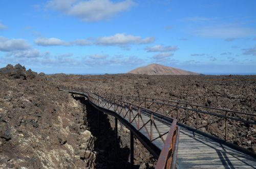 lava,Rokas,gamta,Kanarų salos,vulkaninis,nusmukęs,akmenys,šaltas,vulkanizmas,lavos srautas,toli,platus,dangus