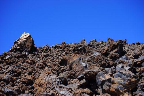 lava,lava rock,lavos laukai,rieduliai,skiriamasis,mėnulio kraštovaizdis,Tenerifė,Teide nacionalinis parkas,lavos srautas,Karg,šaltas,Trist,bazalto srautas,bazaltas,tamsi,juoda