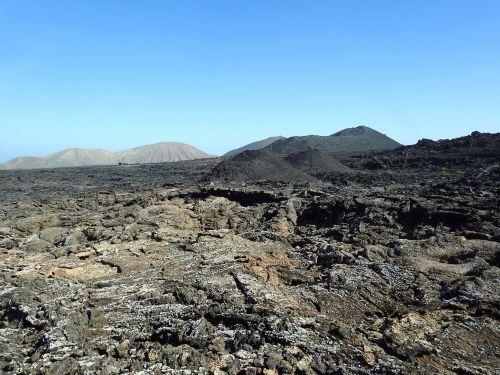 lavos laukas,vulkaninis kraštovaizdis,timanfaya,lanzarote,vulkaninis,Kanarų salos