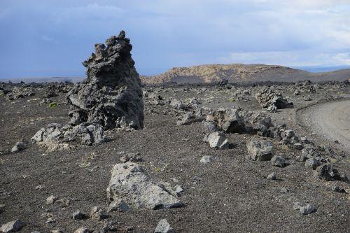lavos laukas,lava,lava rock,mėnulio kraštovaizdis,sluoksnis,rieduliai,iceland